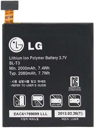 LG BL-T3 2000mAh Battery