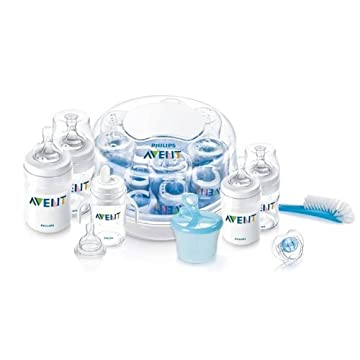 Philips AVENT Classic Essentials Gift Set with Sterilizer