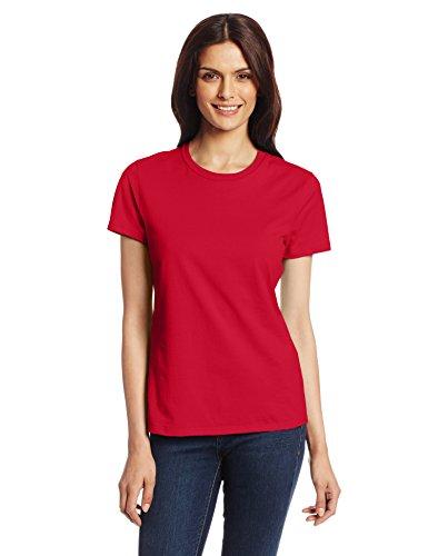 Hanes Women's Nano T-Shirt, Medium, Deep Red (Red Shirts Women compare prices)