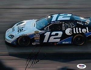 Signed Newman Photograph - Driver 2008 Daytona 500 8x10 PSA COA H 67660 - Autographed... by Sports Memorabilia