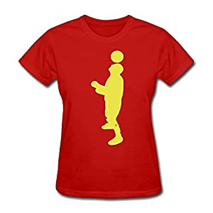 Custom Short Sleeve Cool Football Player Women T Shirt