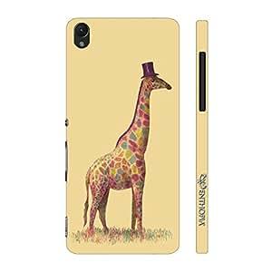 Enthopia Designer Hardshell Case Mr.Giraffe Back Cover for Sony Xperia Z1