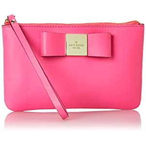 Kate Spade New York Veranda Place Bee Clutch Bougainvillea One Size