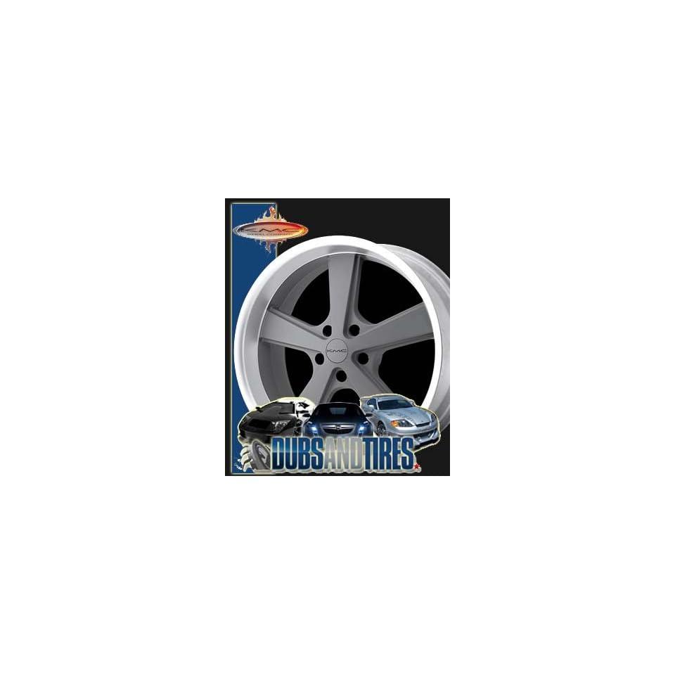 20 Inch 20x8.5 American Racing wheels wheels NOVA Mag Gray Machined wheels rims