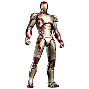 Hot Toys Iron Man Movie Master Piece - Mark 42 XLII Diecast Figure