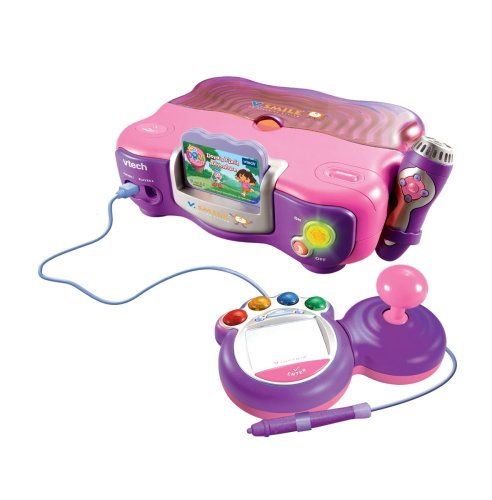 VTech VSmile Pink Bundled with Dora the Explorer