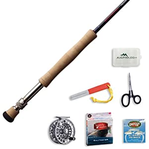 Redington Predator Fly Fishing Rod and Delta Reel Outfit-8wt 9ft 4pc (890-4) by Redington