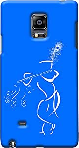 Kasemantra Muralia In Blue Case For Galaxy Note Edge
