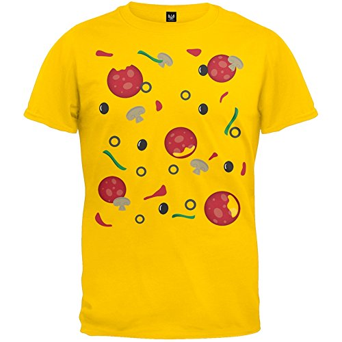 Pizza Costume Youth T-Shirt - Youth Medium front-1063913