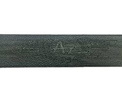 AZ Black Leather Belt