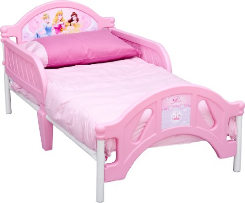 Disney Princess Pretty Pink Toddler Bed