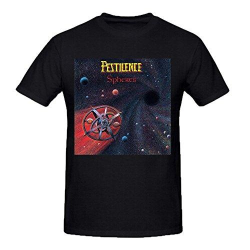 Pestilence Spheres Uomo Graphic Tee Shirts