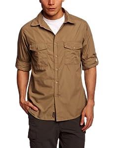 Craghoppers Kiwi - Camisa para hombre, tamaño Medio, color guijarro