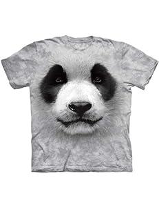 Big Face Panda The Mountain Kinder T-Shirt XL