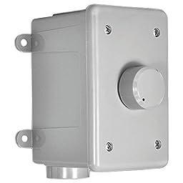 OSD Audio OVC305RGrey 300-Watt Resistor Based Outdoor Stereo Volume Control, Grey