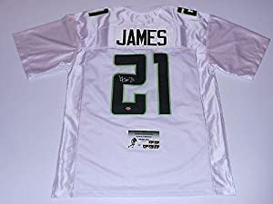 Signed Lamichael James Jersey - GTSM HOLO & COA - Autographed College Jerseys by Sports+Memorabilia