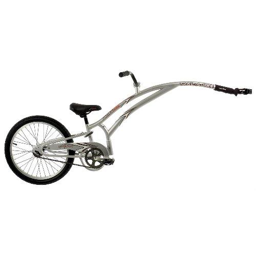 Trail-A-Bike Jr. Compact Folder (Silver) front-114054
