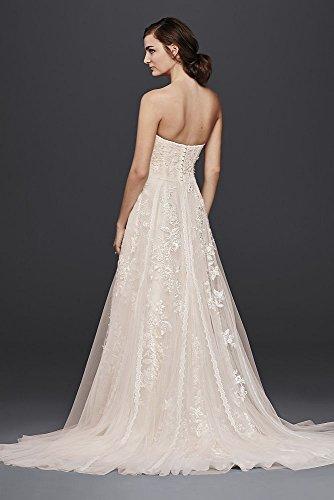 Melissa Sweet Lace A Line Wedding Dress Style Ms251174