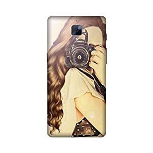 Printrose Oneplus 3 back cover High Quality Designer Case and Covers for Oneplus 3 Camera Woman