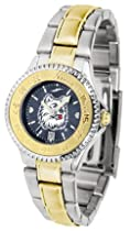 Connecticut Huskies Competitor AnoChrome Ladies Watch with Two-Tone Band