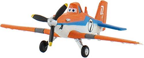 * PLANES - DUSTY * Spielzeug-Flugzeug als Geschenk, Mitgebsel oder Deko von Bullyland® // 12920 // Geschenktüten Kindergeburtstag Disney Pixar