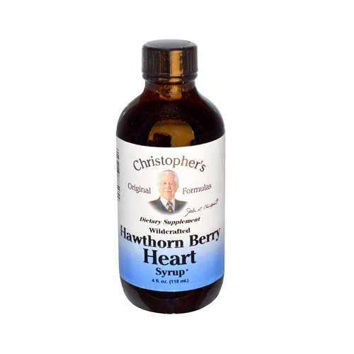 Dr. Christopher'S Original Formulas Hawthorn Berry Heart Syrup, 4 Ounce