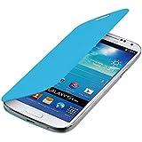 kwmobile Étui de protection à rabat pratique et chic pour Samsung Galaxy S4 Mini i9190 / i9195 en Bleu clair