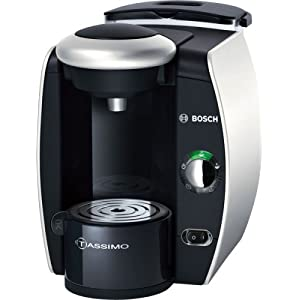 Bosch TAS4011GB Tassimo Coffee Maker, Silver