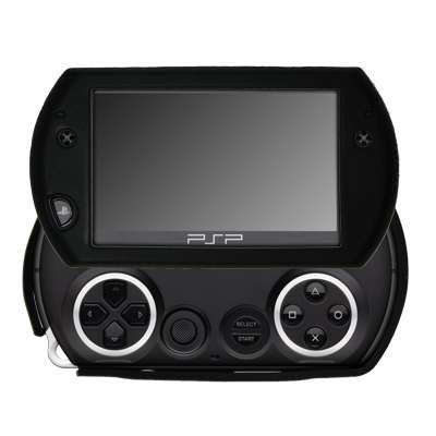 Premium Black Silicone Gel Skin Soft Cover Case for Sony PSP Go [Accessory Export Packaging]