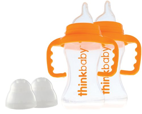 Thinkbaby BPA Free Sippy Cup, 9oz, 2 pack - 1