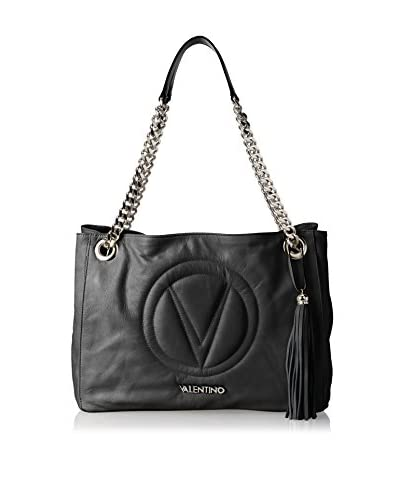 Valentino Bag by Mario Valentino Women's Verra Shoulder Bag, Black, One Size