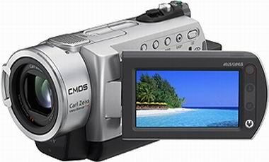 Sony DCR-SR190E Hard Disc Drive Camcorder With 2.7'' LCD Screen