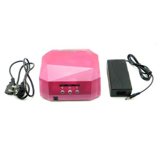 Fast D-H-L Pink Professional 36W Uv Lamp Light 12W Ccfl+24W Led Nail Gel Polish Uv Led Nali Lamp 36W Nal Dryer