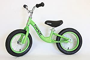 Childrens Boogie Balance Training Bike by Colby Cruisers (Electric Lime)