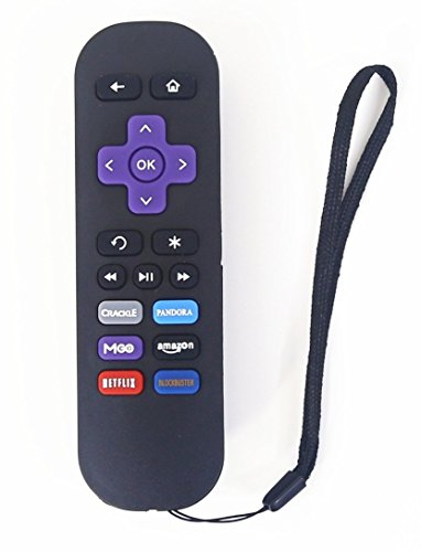 Betterqualityremote Replacement Lost Remote Control 1 Year Warranty Compatible with Roku Models Roku 1 (Lt, Hd); Roku 2 (Xd, Xs); Roku 3 (Do NOT Support Roku Streaming Stick, Hdmi Stick and Game)