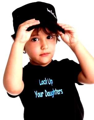 Lock Up Your Daughters Design - Buy Lock Up Your Daughters Design - Purchase Lock Up Your Daughters Design (Baby Rock Apparel, Baby Rock Apparel Boys Shirts, Apparel, Departments, Kids & Baby, Boys, Shirts, T-Shirts, Short-Sleeve, Short-Sleeve T-Shirts, Boys Short-Sleeve T-Shirts)
