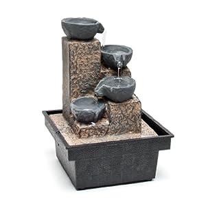 Decor desk mini water basket fountain water for Decor 5 5 litre drink fountain