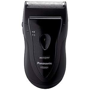 Panasonic ES3831K Single Blade Travel Shaver, Black