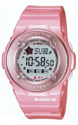 Casio Baby G Ladies Pink Puppy Watch BG1300PP-4DR