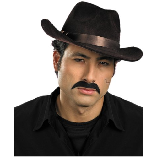 Gangster Mustache Costume Accessory