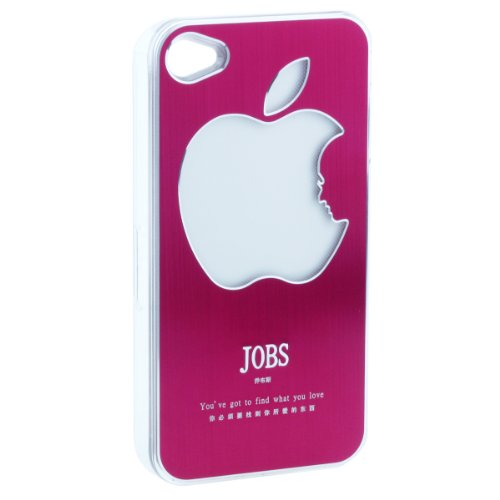 Apjobs Led Flash Rgb Color Change Cover Case For Iphone 4S 4 (Red)