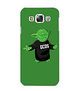 SAMSUNG GALAXY E5 MONSTER Back Cover by PRINTSWAG