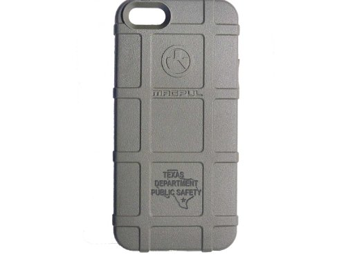 Police Tx Dps State Ol Engraved Magpul Mag452 Field Case Fol Foliage For Iphone 5 & 5S Engraved By Ndz Performance