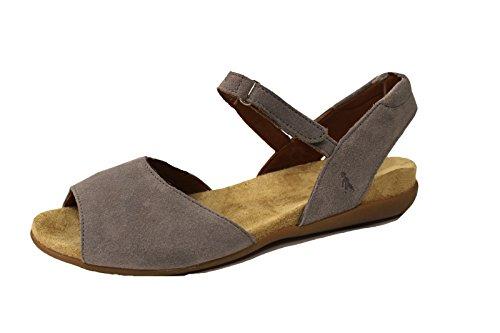 BENVADO Melissa Grigio, sandalo donna camoscio (3.5 UK)