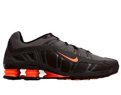 Nike Shox Turbo 3.2 SL Mens Running Shoes Dark Grey/Total Orange-Anthracite-Black 455541-080-10.5