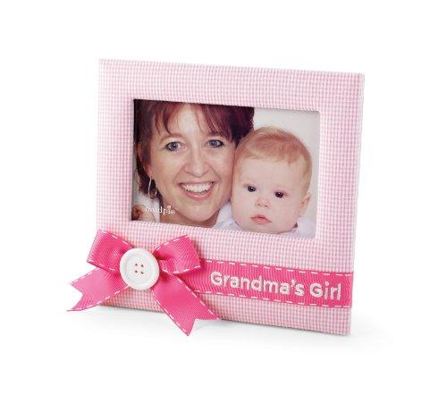 buy mud pie baby little princess pink gingham photo frame grandmas girl now - Mud Pie Frames