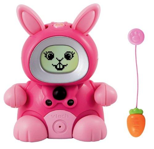 Vtech Kidiminiz KidiBunny Interactive Pet Bunny - Pink Rabbit - 1