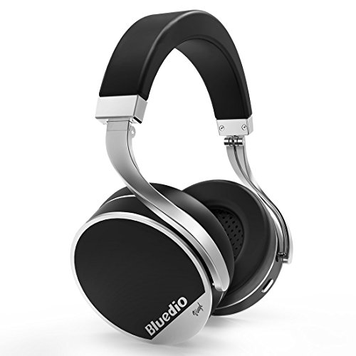 Bluedio Vinyl Plus Luxury Wireless Bluetooth Headphones(Black)