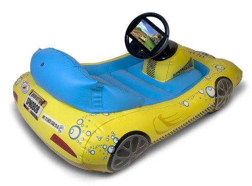 SpongeBob SquarePants Inflatable Sports Car for Kindle Fire (will not fit Kindle Fire HD models)