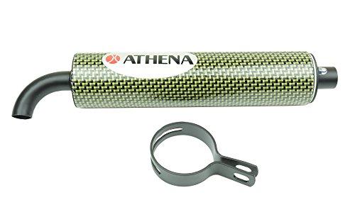 athena-s410000303003-silenciador-regenerable-60-x-250-mm-en-fibra-de-carbono-de-diametro-22-mm-para-